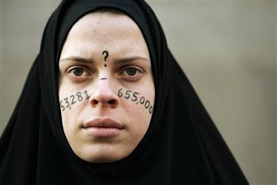 Protesta anti guerra de Irak