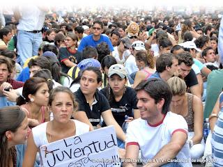 Movimiento Estudiantil Venezolano - Fuente: Soberania.org