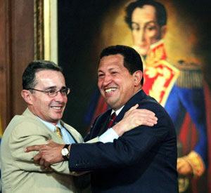Uribe con el Bolívar Fuerte