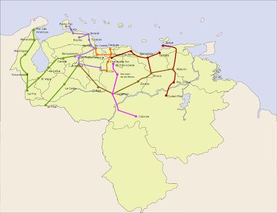 Trenes de Venezuela