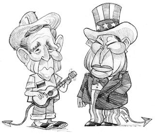 Bush y el Bush Bizarro