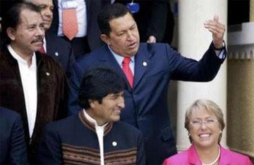 Foto de presidentes Cumbre de Río