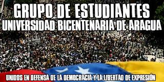 Estudiantes de la Universidad Bicentenaria de Aragua
