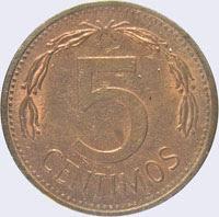 Puya - 5 centavos - Bolívar