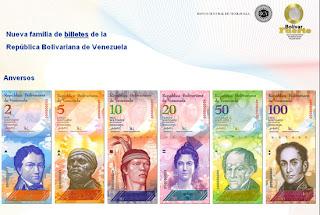 Billetes Bolivar Fuerte
