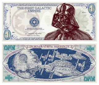 Dinero de Star Wars