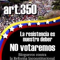 NO a la Reforma Constitucional