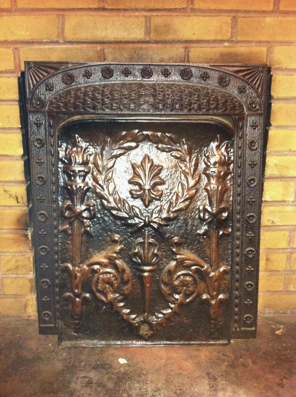 Bungalow Cpr Coal Burning Fireplace Cover
