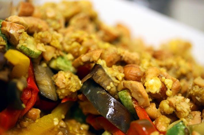 la cucinetta eat less carbs crumble de legumes com curry. Black Bedroom Furniture Sets. Home Design Ideas
