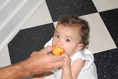 Eating Peaches