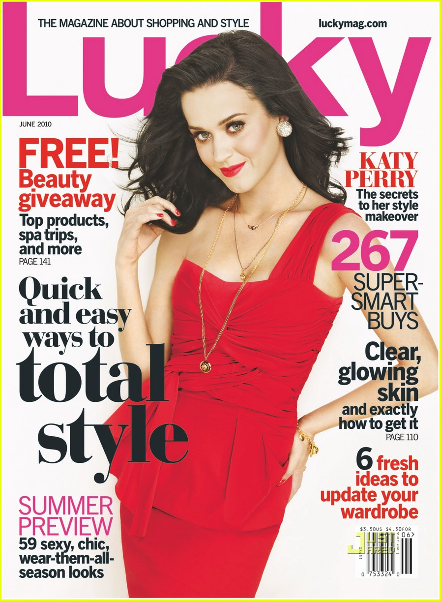 Lucky Magazine May 11: The Best Damn Blog // Packed With Entertainment: Katy