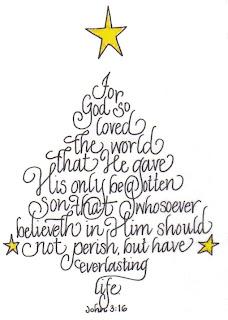 Image result for John 3:16 christmas