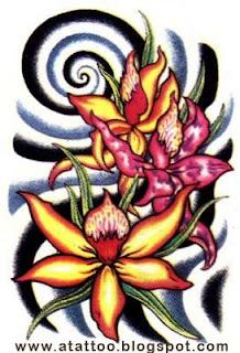 Tattoo Art Desenhos De Flores Para Tatuagem