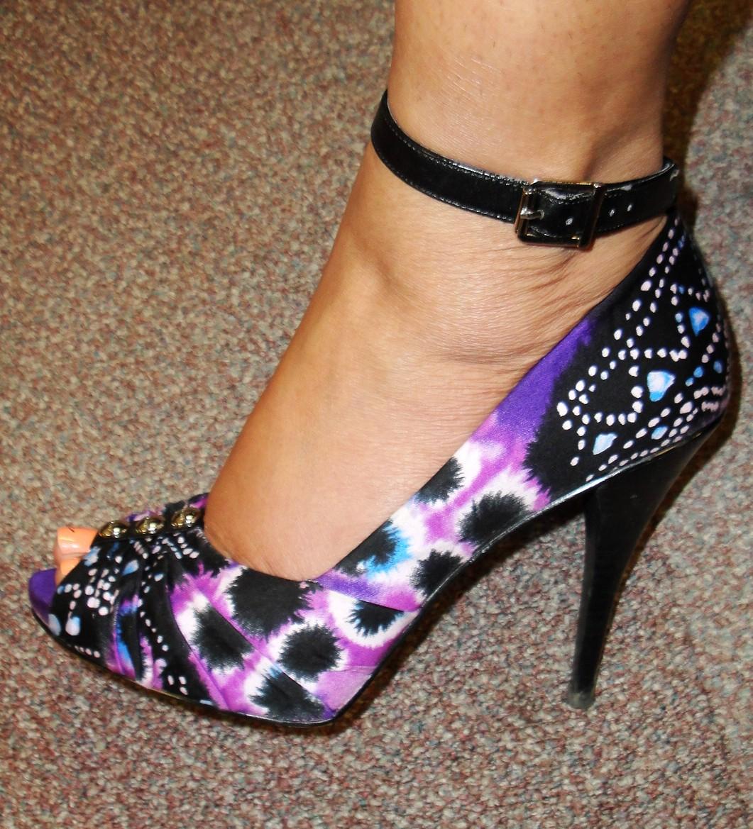 e2d1887dce The Fancy Face  BCBG Purple Shoes