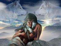 Conta uma lenda dos indios soux.. aguia e falcão