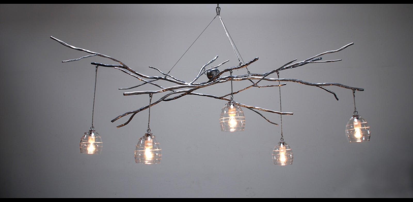 10 Rooms Woodland Chandelier Sculptural Lighting