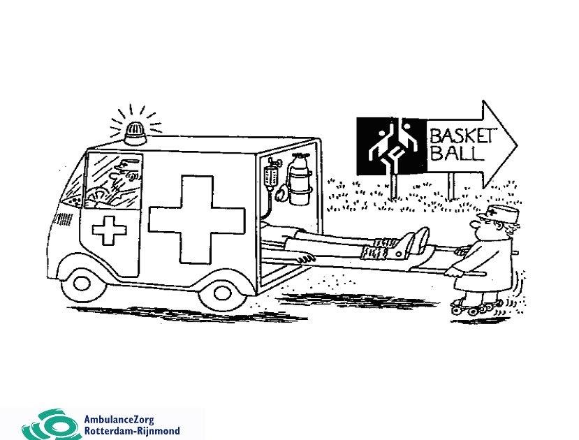 Ambuloesje In Actie Kleurplaat Xl Ambulance