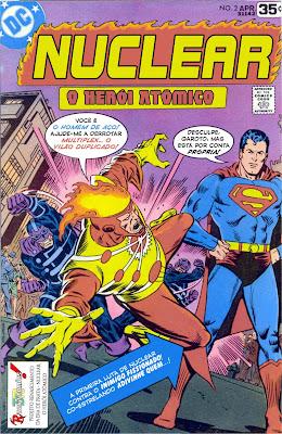 Resultado de imagem para NUCLEAR: O HEROI ATÔMICA # 01