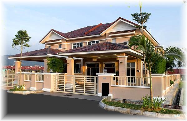 Model Rumah Banglo Mewah