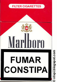 fumar constipa