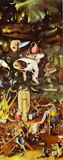 pintura de Hieronymus Bosch (detalhe)