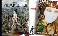 Contracapa ('The Vilarelher') e Capa da 'Periférica' n.º 14