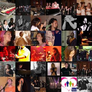 Fitiavana Gospel Choir en studio Collage1