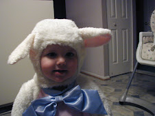Halloween lamb...or sheep...or whatever it is, but she's too cute.