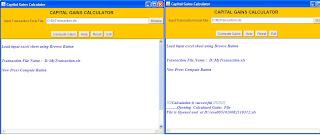 Capital Gain Calculator for Shares & MFs