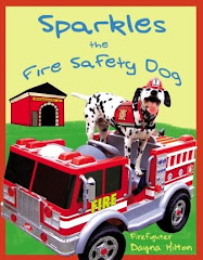 Celebrating the release of the 2nd edition of Sparkles the Fire Safety Dog!