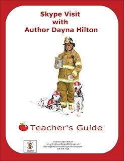 Sparkles the Fire Safety Dog Dayna Hilton