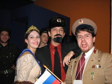 Três autocratas russos