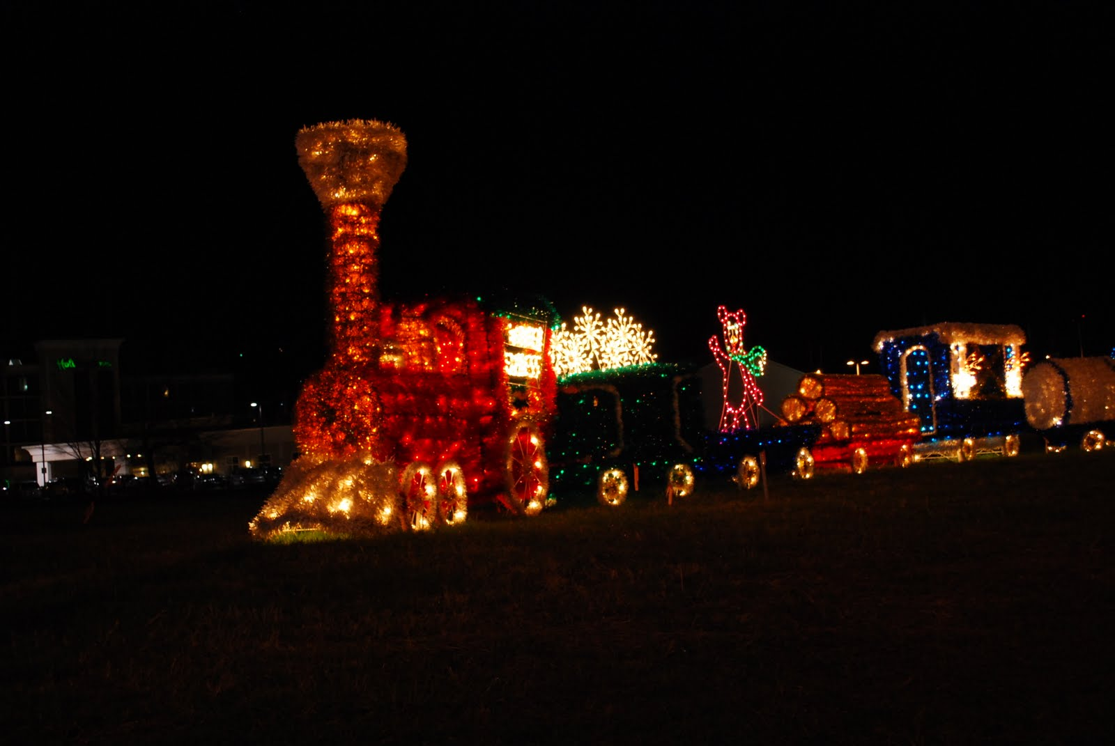 Richards Travels: Christmas Lights in Pigeon Forge