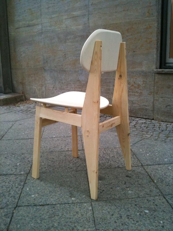 stuhl selber bauen holz