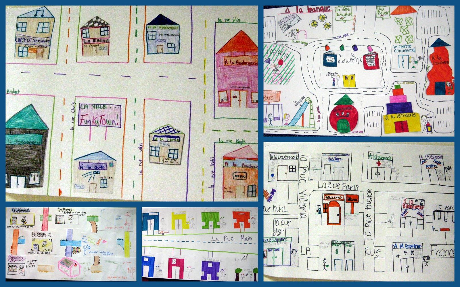 Le Francais 8th Grade Maps
