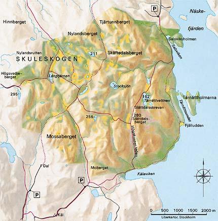 karta skuleskogen Ny bok om Skuleskogens nationalpark karta skuleskogen