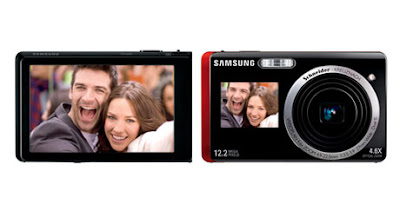 Samsung Digital Cameras with Dual Screen LCD