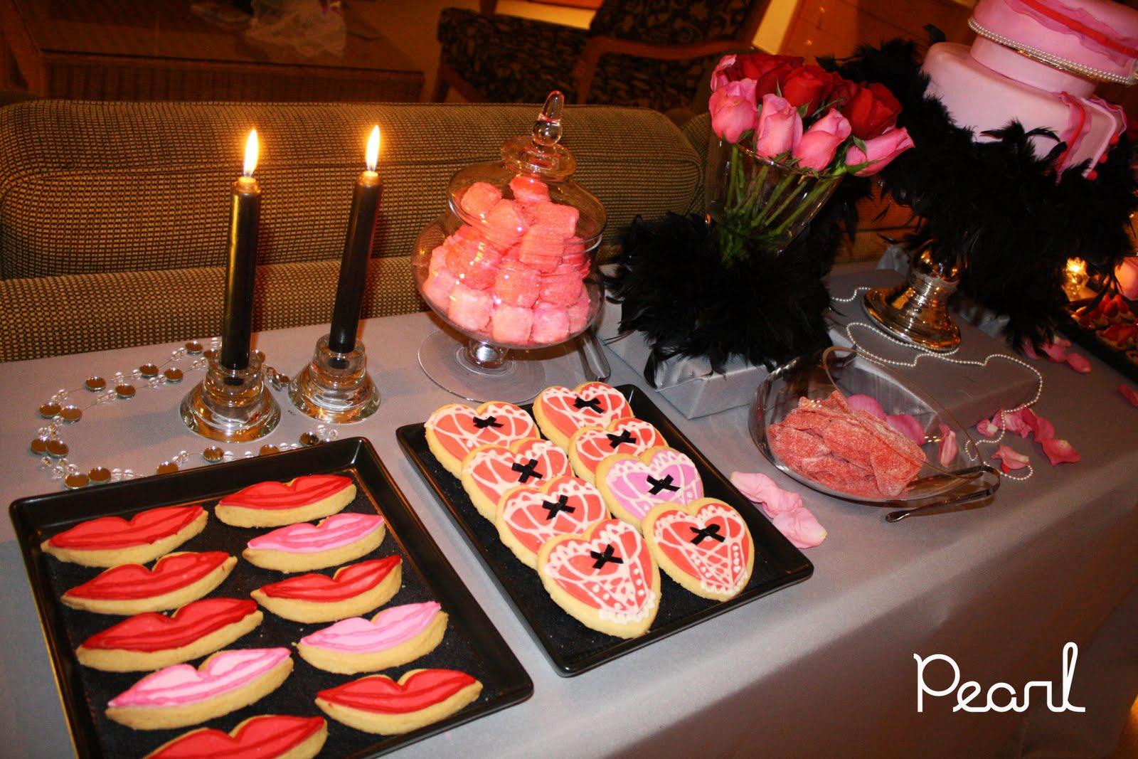 Pearl Cakes Events Dessert Table Burlesque Bachelorette