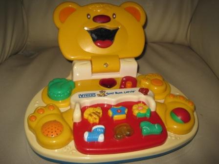 Vtech Teddy Bear Laptop My Baby