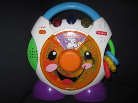 Fisher Price Spin N Play Radio My Baby
