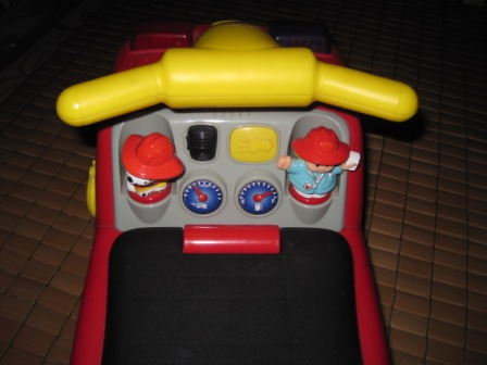 Little People Fire Truck Musical Ride On My Baby