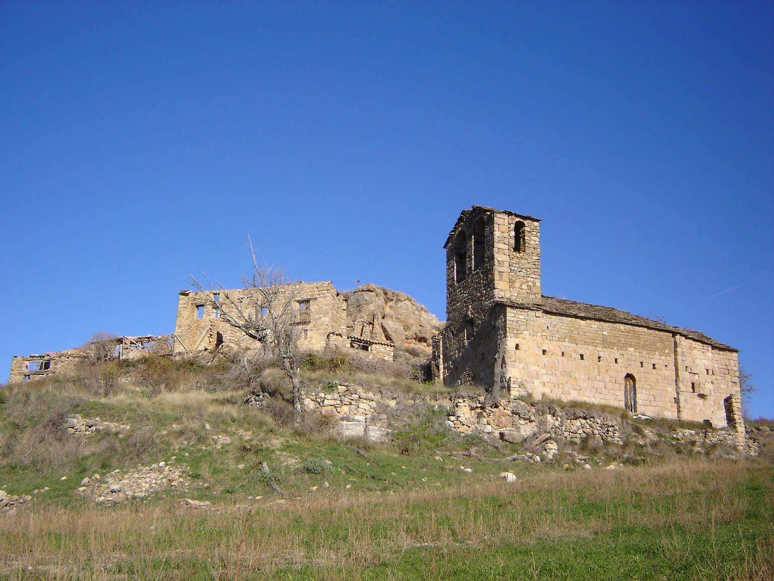 Resultado de imagen de Iglesia de San Cristóbal (Abenozas)