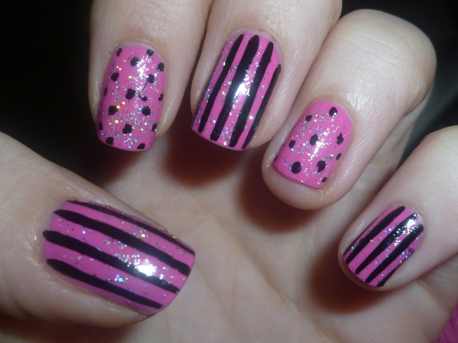 the little curly girl nail art. Black Bedroom Furniture Sets. Home Design Ideas