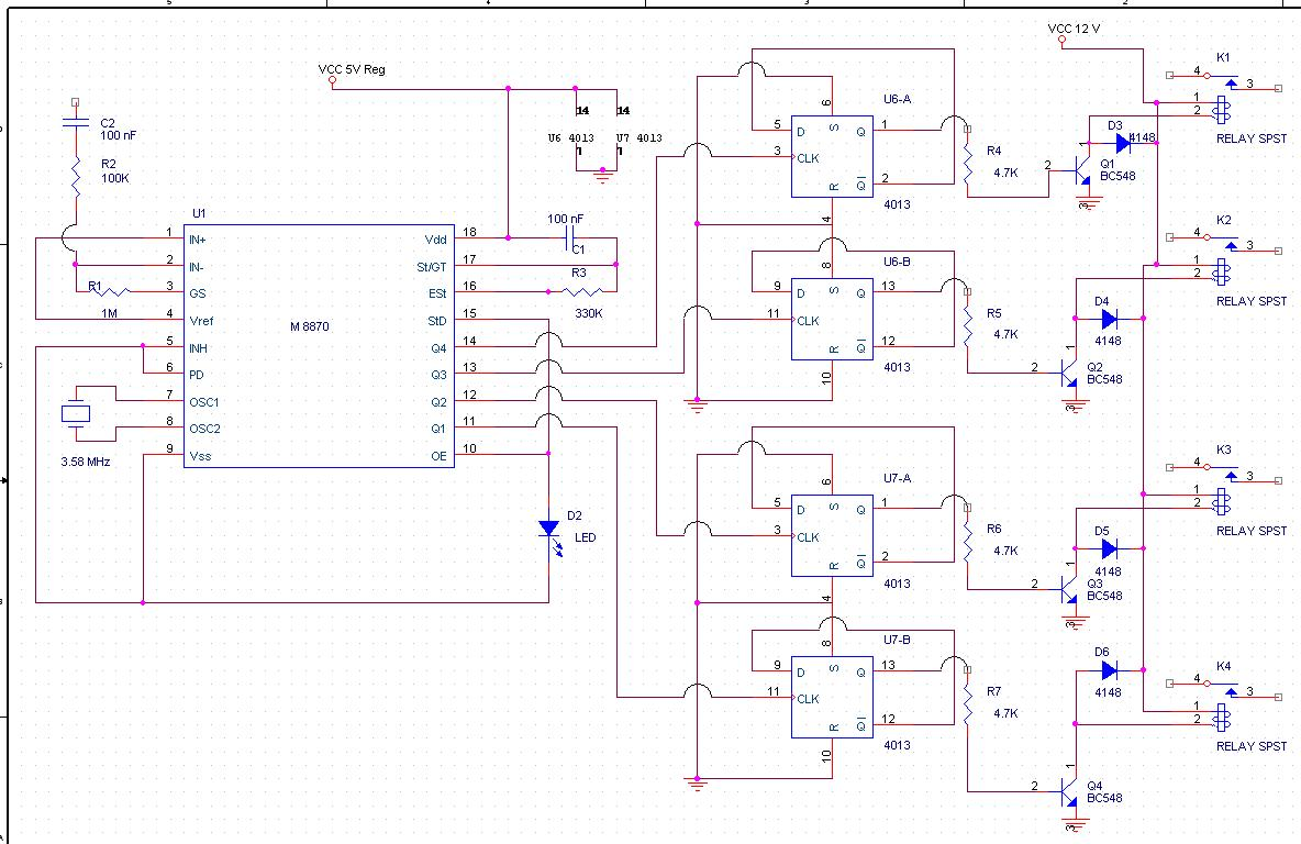Electronics Circuits 2009 Switching Power Supply By Lm3524 And Lm324 Circuit Wiring Diagrams The Receiver Unit Consists Of An Fm These Days Simple Inexpensive Kits Are Readily Available In Market Which Work Exceptionally Well
