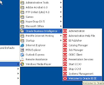 Abhinav's Tech Blog: BI Enterprise Edition - First Look