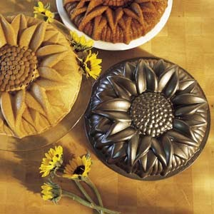 Sunflower Cake Pan Nordic Ware