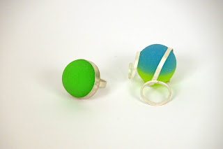 bouncy-ball rings by helen mok (lingling) :  bouncy balls rings jewelry jewellery