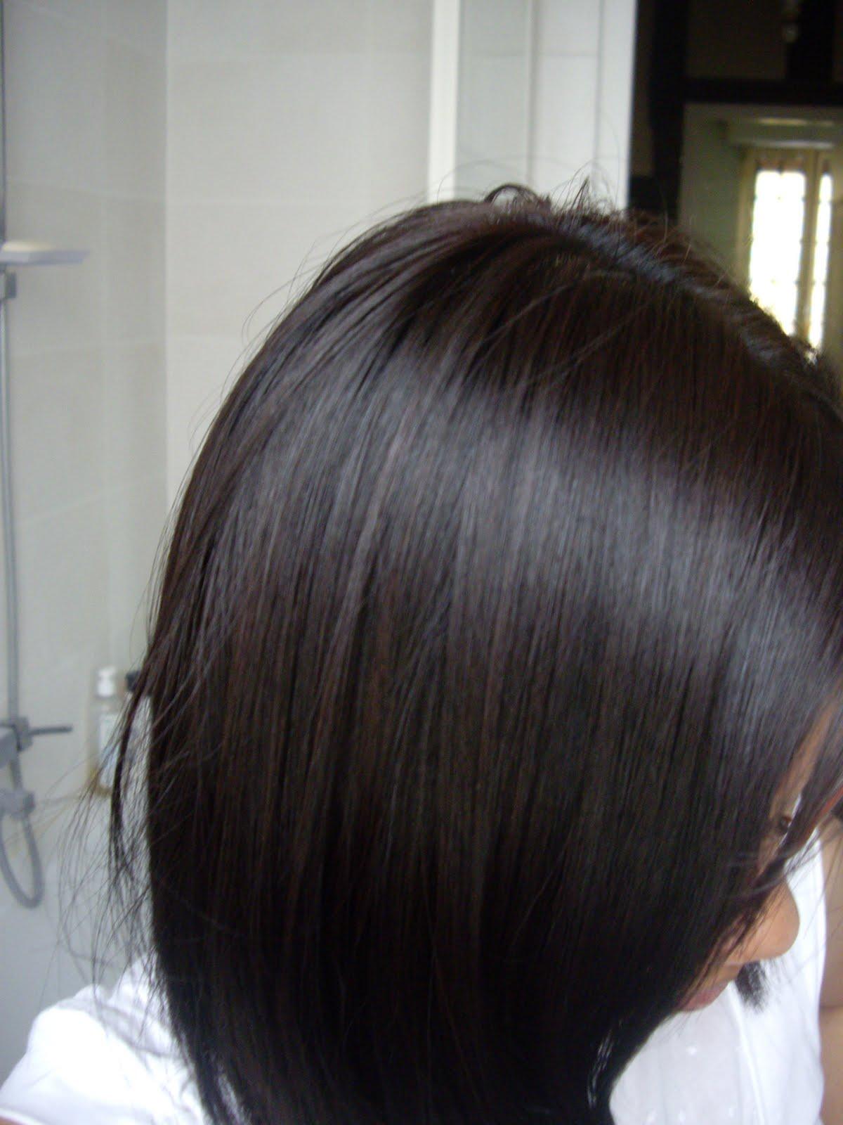 Le blog d 39 une asiatique blond fonc acajou cuivre de l 39 or al excellence cr me - Couleur acajou fonce ...