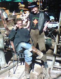 Joe West with Bobby Brodsky