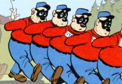 The Beagle Boys headed to the Department of Rehabilitation & Corrections.